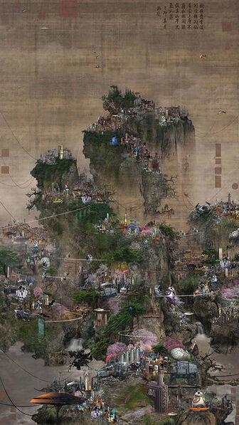 Lee Lee Nam, 'The Battle of Civilisation - Star Wars V (55-inch)', 2016