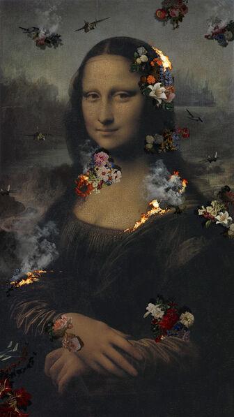 Lee Lee Nam, 'Ruins Mona Lisa (65-inch)', 2016