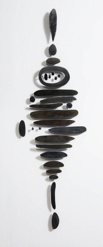 Carolina Sardi, 'Mother', 2016, Sculpture, Steel with black and blue patina, Cheryl Hazan Gallery