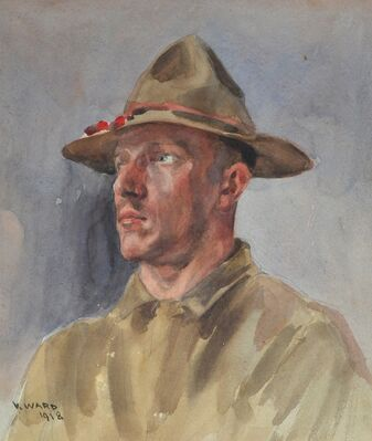 Artists' Perspectives of the First World War, installation view