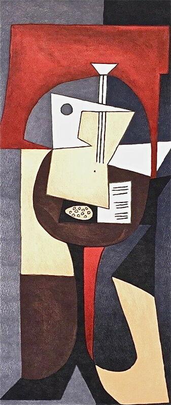 Pablo Picasso, 'Guitare et Partition', 1982, Reproduction, Lithograph on Arches paper, Art Commerce