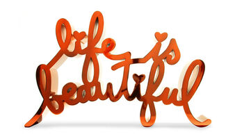 Mr. Brainwash, 'Life Is Beautiful-Hard Candy Orange', 2020