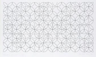 Bridget Riley, 'Composition with Circles 1', 1998