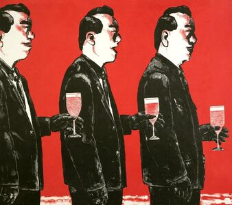 Su Xinping 苏新平, 'Comrade and Toast Series No. 4', 2006