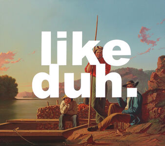 Shawn Huckins, '  The Wood-Boat: Like Duh ', 2016