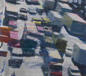 David Kapp, 'Canal St. Truck Traffic', 2016