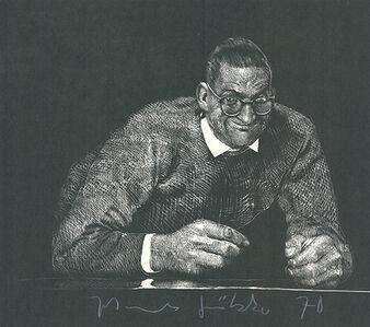 Johannes Grützke, 'Selbstportrait II', 1970