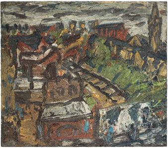 Leon Kossoff, 'Dalston Lane, Summer', 1974