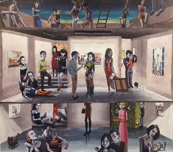 Gino Rubert, 'Gallery kiss', 2017