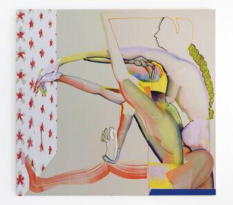 Christina Quarles, 'Hard Pressed', 2017