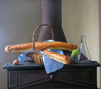 Ron Schwerin, 'Two Loaves and a Flask', 1992