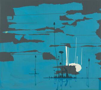 William Swanson, 'Elemental (Blue)', 2018