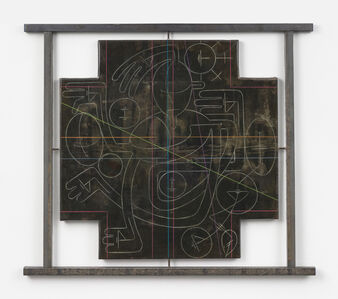 Andrew Lyght, 'Industrial Painting/Sheathing 0486DF', 1994-1995