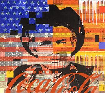 """Mark Andrew Allen, '""""James Dean Flag""""', 2017"""