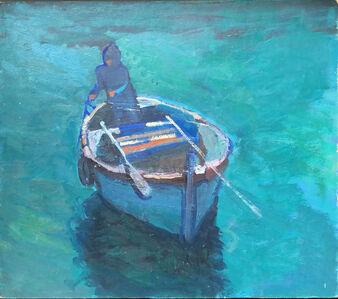 Salvatore Del Deo, 'The Last Night-Fishing Squid Boat', 1996