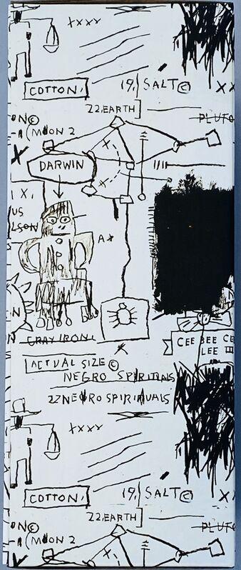 Jean-Michel Basquiat, 'Basquiat Bearbrick 400% Companion (Basquiat BE@RBRICK)', 2019, Ephemera or Merchandise, Cast vinyl figure, Lot 180