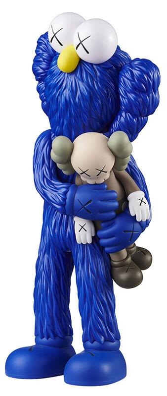 KAWS, 'KAWS TAKE complete set of 3 (KAWS companion)', 2020, Sculpture, Painted Vinyl Cast Resin, Lot 180