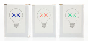 Limited Edition XX Light Bulbs, set of three