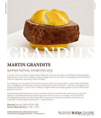 Summer Festival Exhibition 2018 - Martin Grandits, installation view