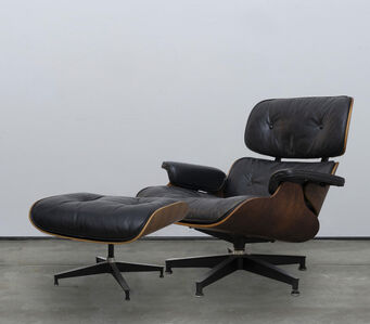 Charles and Ray Eames, 'Eames Lounge Chair and Ottoman #2'