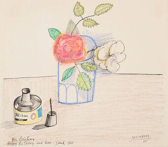 Saul Steinberg, 'For Christina', 1968