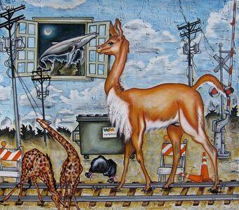 Louis Recchia, 'Urban Zoo', 2020