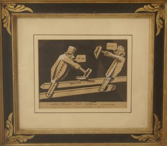 Mario Sironi, 'La Questione di Fiume', ca. 1923