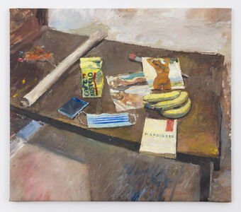 Jesse Edwards, 'Studio objects on table', 2020