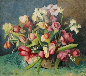 Blanche Lazzell, 'Some Flowers from Cornelius Ridgeway's', 1932