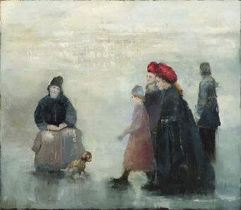 France Jodoin, 'The beggar, the monkey and lady Mary', 2020