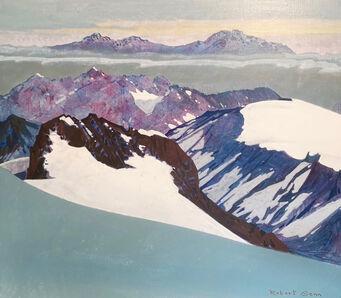 Robert Genn, 'Mountain Pattern', 1984