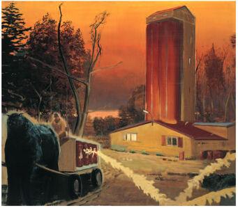 Neo Rauch, 'Lieferung', 2002