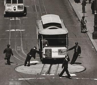 Max Yavno, 'Cable Car, San Francisco 1947', 1947-printed later