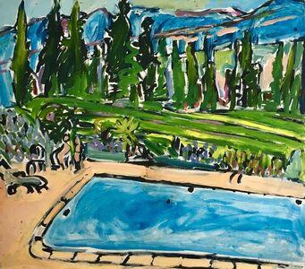 Elizabeth Cope, 'Swimming at Domaine des Anges ', 1997