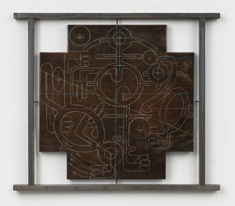 Andrew Lyght, 'Industrial Painting/ Sheating 0535DF', 1995-1996