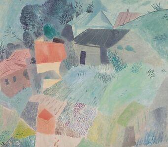 Petr Efimovich Zverkhovsky, 'Green day', 1990