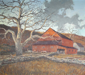 Eric Sloane, 'Red Barn', Date Unknown