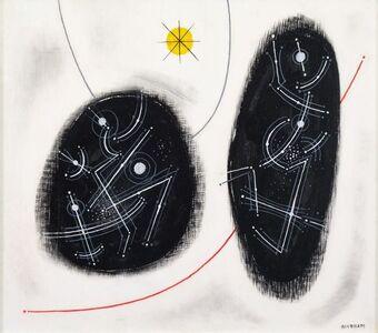 Emil Bisttram, 'Enclosed Rhythms', 1954
