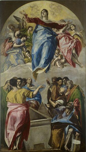 El Greco, 'The Assumption of the Virgin', 1577-1579