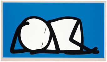 Stik, 'Sleeping Baby', 2015