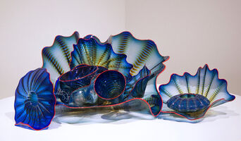 Dale Chihuly, 'Sapphire Blue Persian Set', 1999