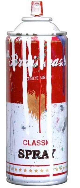 Mr. Brainwash, 'Tomato Spray Can (White)', 2013, Sculpture, Spray paint on steel spray can, Imitate Modern
