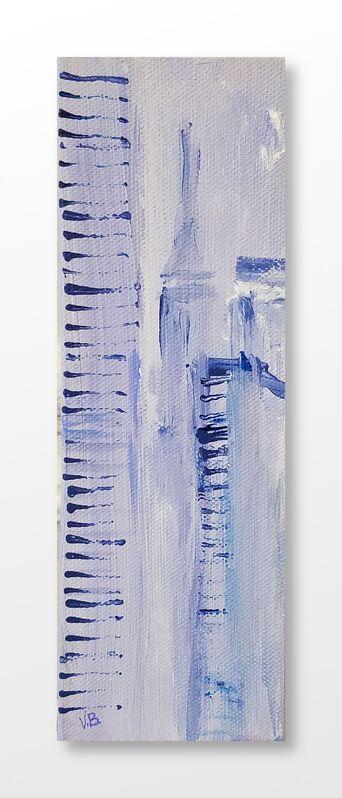 Vian Borchert, 'City Stripes And Fog', 2020, Painting, Acrylic on canvas, bG Gallery