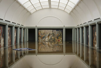 Breaking News: The Flooding of the Louvre
