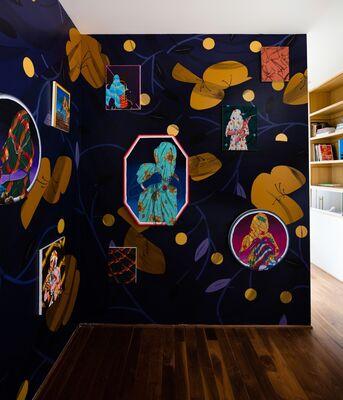Amir H. Fallah: Corner, installation view