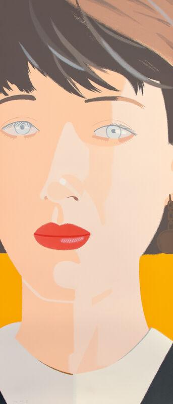 Alex Katz, 'Samantha', 1987, Print, Screenprint in colors, on wove paper, the full sheet., Phillips