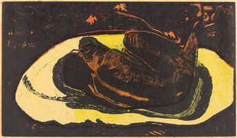 Paul Gauguin, 'Manao Tupapau (She is Haunted by a Spirit)', 1894/1895