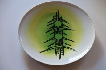 """Porcelana di Albisola - 12"""" plate"""
