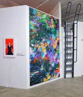 STUDIO VISIT Solo Exhibition by MILJAN SUKNOVIÇ, installation view