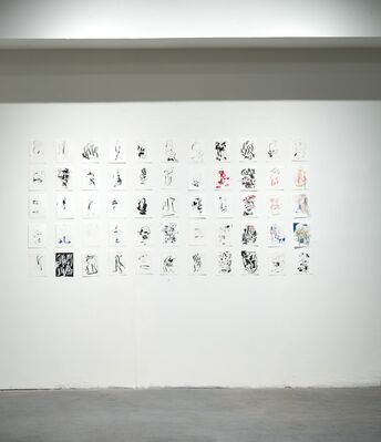 Record of Motion, installation view